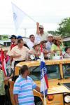 Balbina Herrera en la Cabalgata del 2 de Febrero - Patronales de Bugaba