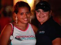 Juventud de Cambio Democrático en la Feria de la Candelaria - Bugaba