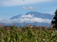 Vista de Volcán Barú desde La Concepción