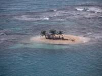 Pequeña Isla desde el Avión - San Blas