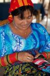 El Delicado trabajo de elaborar Molas, San Blas