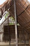 Típica Vivienda Kuna en Construcción