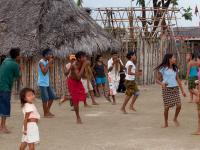 Danza Kuna en la Comunidad de Playón Chico, San Blas