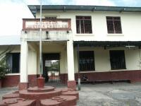 Vista Frontal de la Escuela Justo Abel Castillo