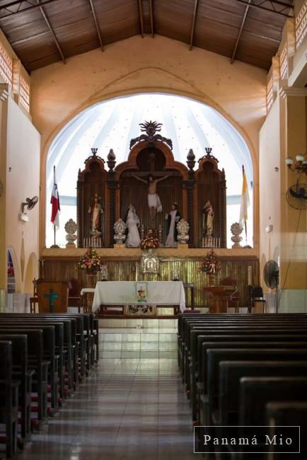 Interior de la Iglesia de Alanje